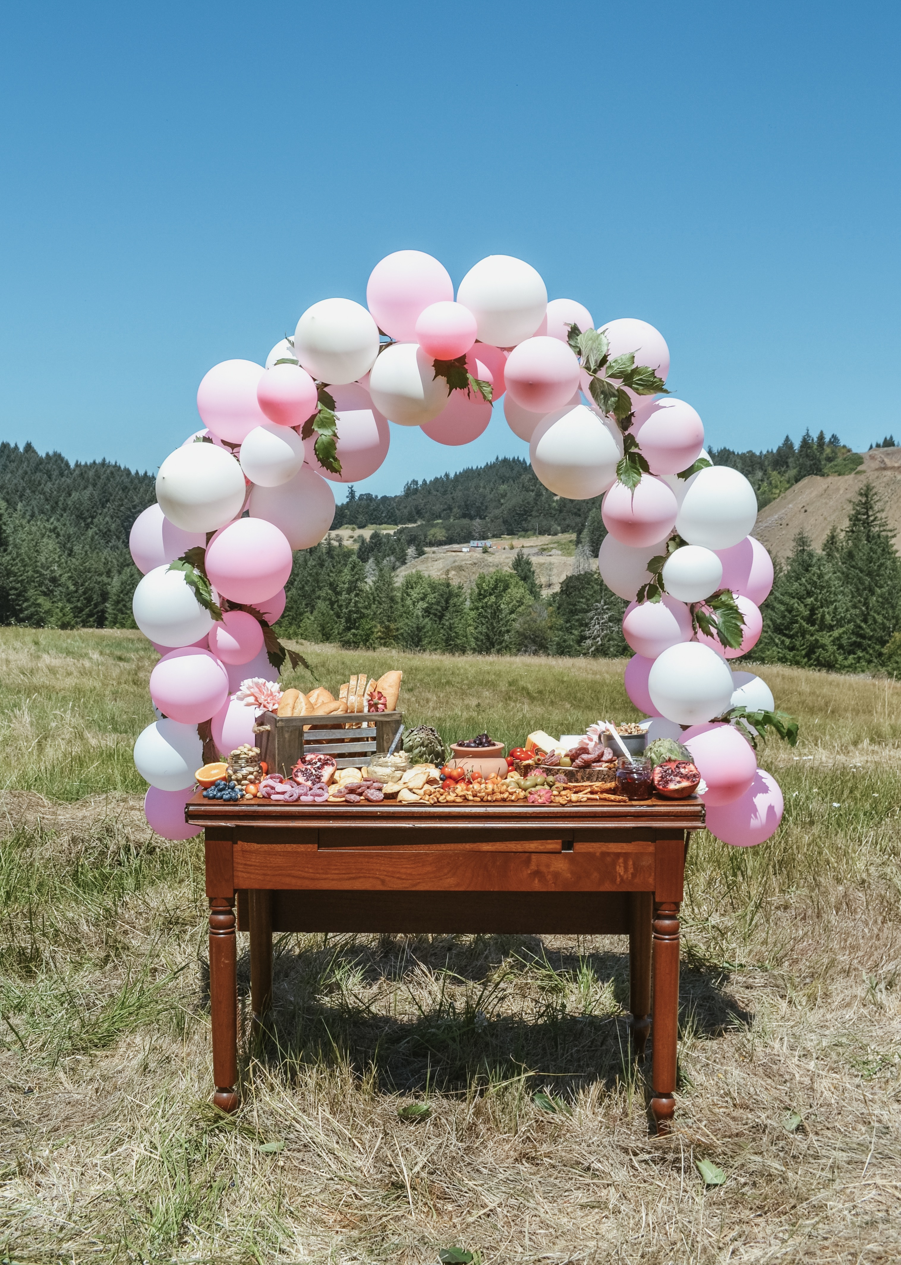 How To Make A Balloon Garland Like A Pro Sage To Silver